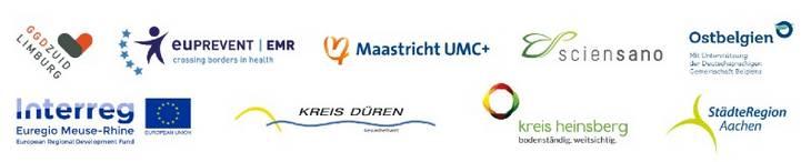 Logo Impact COVID op de Euregio Maas-Rijn