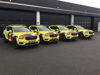 Rapid responder voertuigen